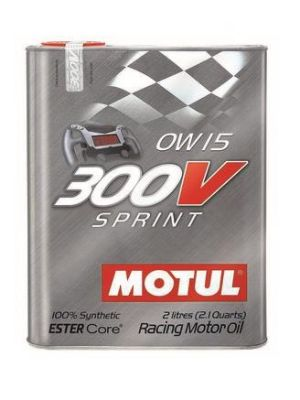 Motul 300V Synthetic-Ester Racing Oil 15w50 2L