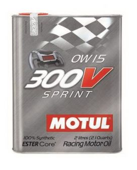 Motul 300V Synthetic-Ester Racing Oil 0w40 2L