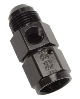 Fuel Pressure Adapter Fitting - 6 AN 1/8 NPT