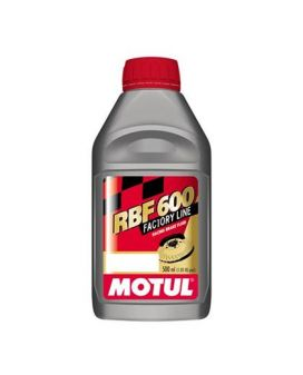 Motul 1/2L Brake Fluid RBF 600 - Racing DOT 4