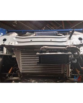 Moto East NC MX5 Oil Cooler/Remote Filter Kit